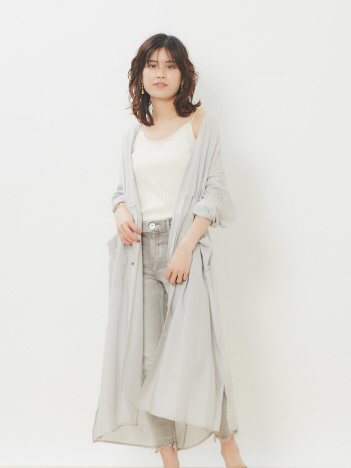OUTLET (Ladie's) - 【MICA&DEAL】シアーボイルロングコート