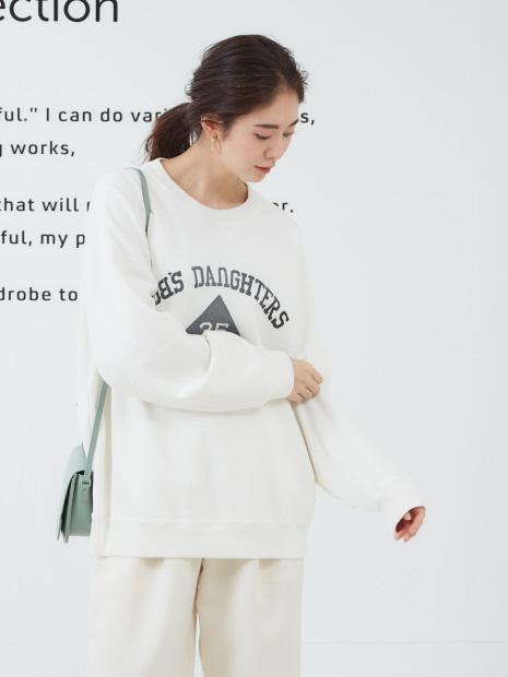 【REMI RELIEF/レミレリーフ】別注ロゴスウェットプルオーバー