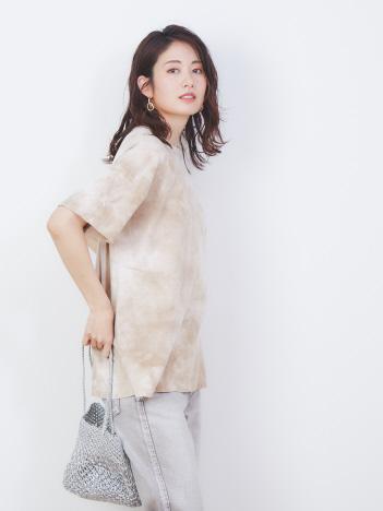 Rouge vif la cle - 【REMI RELIEF/レミレリーフ】別注タイダイTシャツ