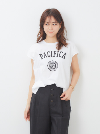 【MICA&DEAL】PACIFICAプリントTシャツ