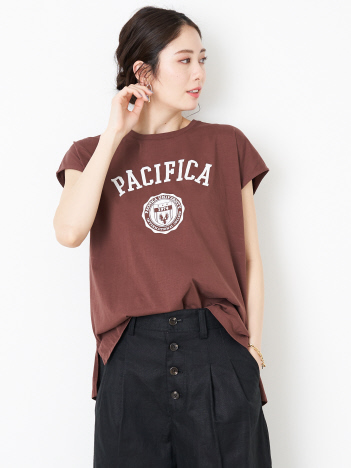 Rouge vif la cle - 【MICA&DEAL】PACIFICAプリントTシャツ