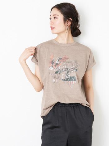 Rouge vif la cle - 【MICA&DEAL】WEB限定イーグルロックプリントTシャツ