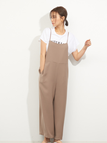 【MICA&DEAL】WEB限定ワイドサロペット