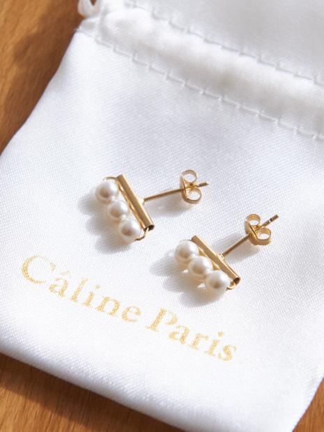 Caline Paris Iラインピアス