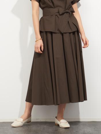 【MICA&DEAL】WEB限定サーキュラースカート