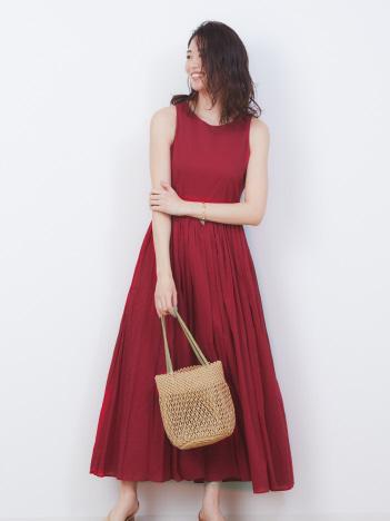 Rouge vif la cle - 【MARIHA】別注 夏のレディのドレス【予約】