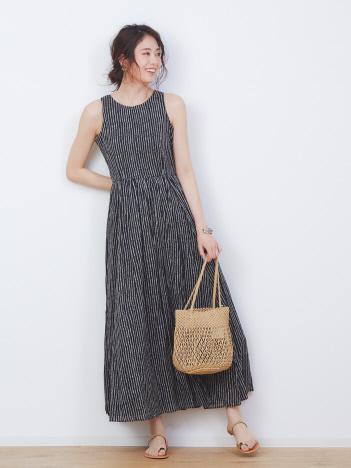 【MARIHA】別注ドット柄 夏のレディスのドレス【予約】