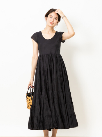 Rouge vif la cle - MARIHA 草原の虹のドレス