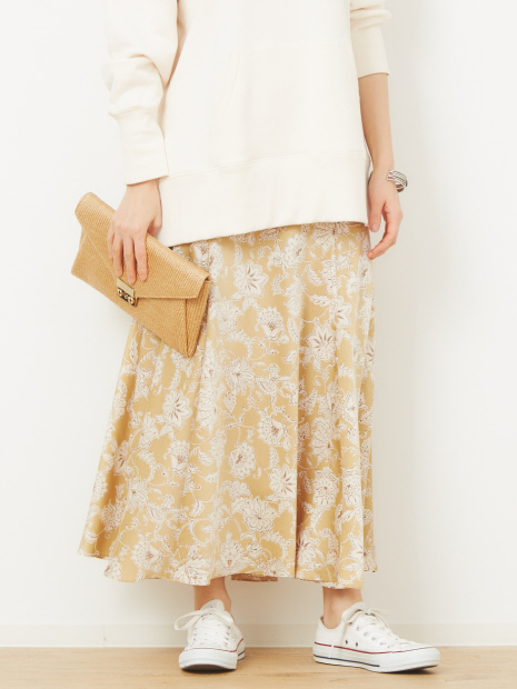 サラサフラワーマキシスカート
