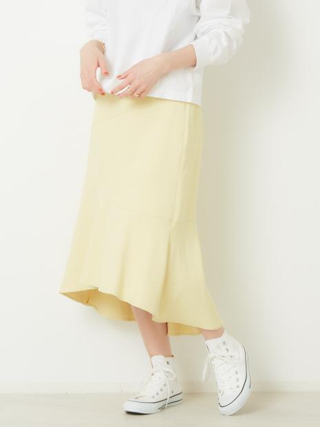 バックテールマーメイドスカート