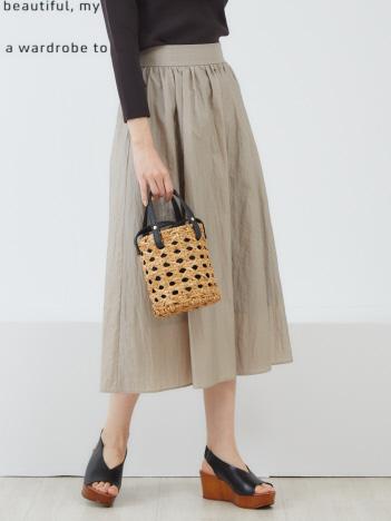 ダイヤモンドワッシャーギャザースカート