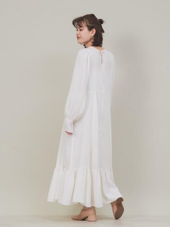 キュプラロングドレス