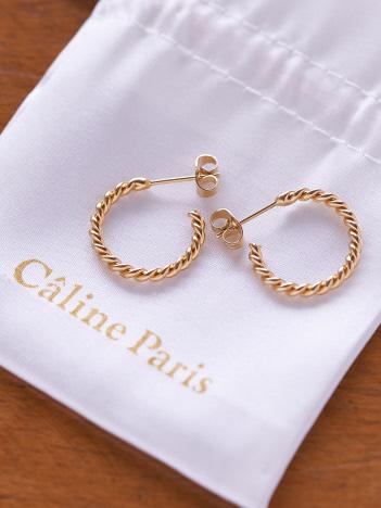 Rouge vif la cle - Caline Paris ラインピアス【予約】
