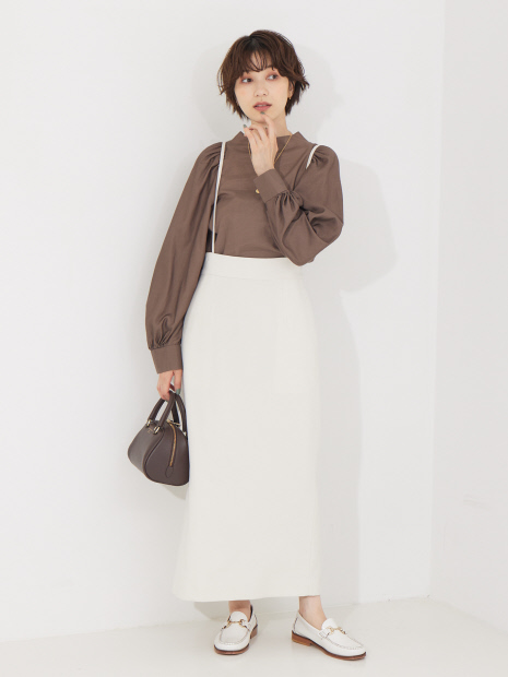 【WEB先行販売】【セットアップ対応】サスペンダータイトスカート