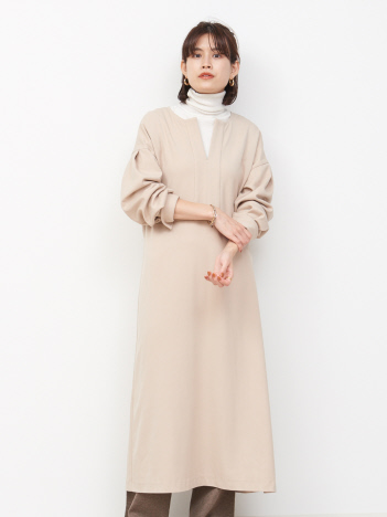 OUTLET (Ladie's) - 【WEB&一部店舗限定】サッシュベルトワンピース