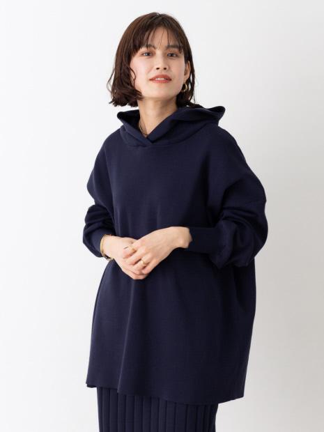 ニットパーカープルオーバー【予約】