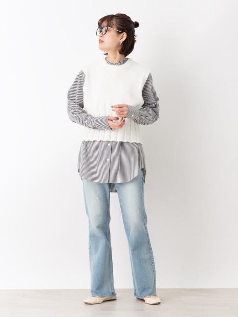 ニットベスト【予約】