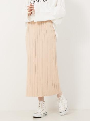 Rouge vif la cle - ニットタイトスカート