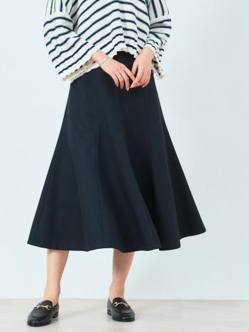ストレッチツイル切り替えスカート