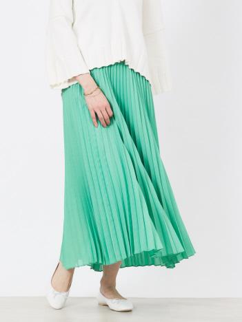 Rouge vif la cle - ボイルプリーツスカート