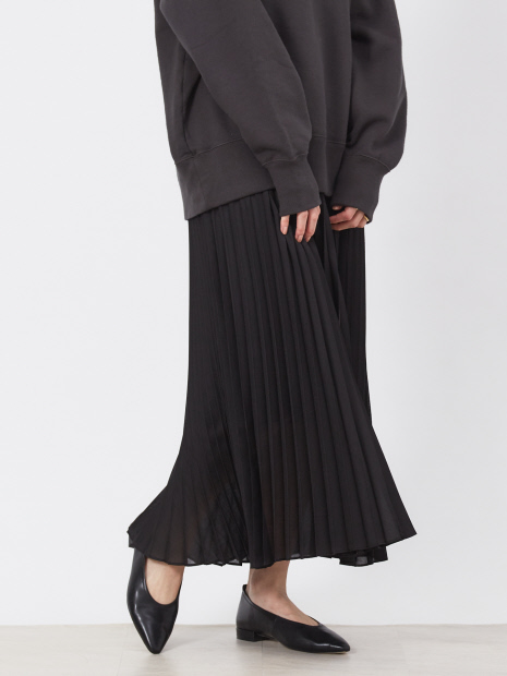 ボイルプリーツスカート