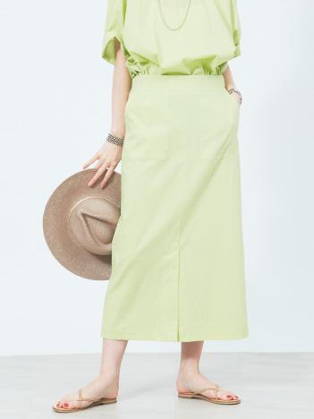 Rouge vif la cle - タイプライターポケットスカート【予約】
