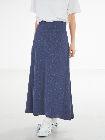 ドットロングスカート