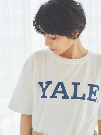 Rouge vif la cle - 【Champion】YALE LOGO Tシャツ