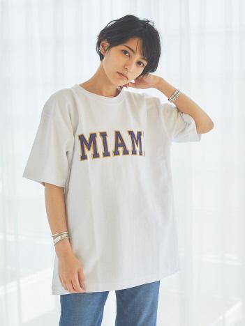 【Champion】MIAMI REVERSE WEAVE Tシャツ