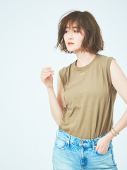 【upper hights/アッパーハイツ別注】ノースリーブTシャツ