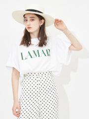 【MICA&DEAL】【WEB限定】LAMAR ロゴヘムラウンドラグランTシャツ【予約】
