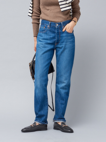 Rouge vif la cle - 【LEVI'S】501 JEANS FOR WOMEN:デニムパンツ