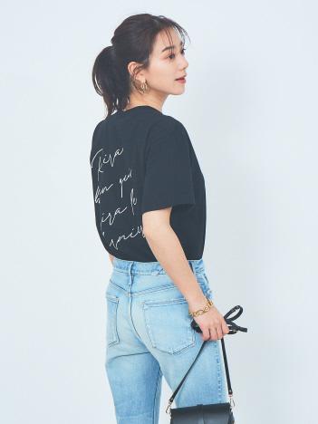Rouge vif la cle - フロントバックロゴTシャツ