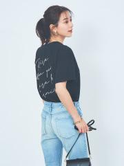 フロントバックロゴTシャツ