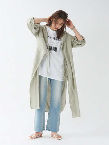 【WEB&一部店舗限定】綿麻ビエラワンピース