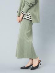 【セットアップ対応】ストレッチリブタイトスカート
