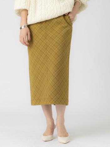 Rouge vif la cle - チェックタイトスカート