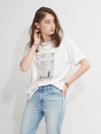 Rouge vif la cle - 【upper hights/アッパーハイツ別注】フォトTシャツ【予約】