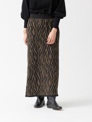 ジャガードニットスカート