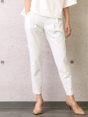 【追加生産決定】2WAYストレッチタックパンツ【off white/black】【GOOD LUCK PANTS】