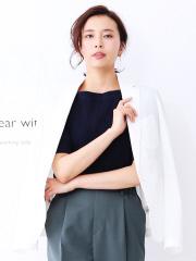 qualite - トラベルジャケット ホワイト