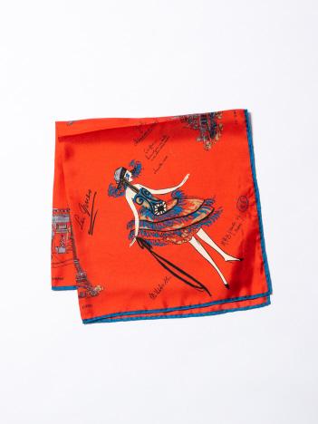 【manipuri】 Parisスカーフ