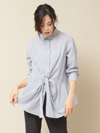 フロントツイストシャツ