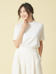 qualite - ハイゲージニットTシャツ