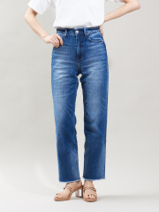 qualite - 【HealthyDENIM】chilipepperワイドデニム