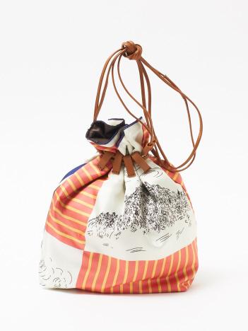 OUTLET (Ladie's) - 【manipuri】CASTEL巾着ショルダーバッグ