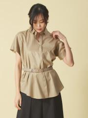 qualite - ワイドスリーブシャツ
