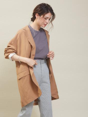 OUTLET (Ladie's) - ビックシルエットシャツジャケット