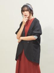 qualite - ビックシルエットシャツジャケット