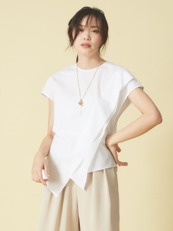 OUTLET (Ladie's) - サイドニュアンスシャツ